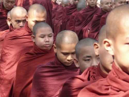 mianmaras,burma,vienuolis