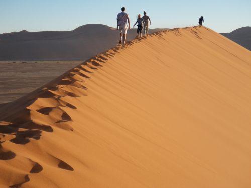 Namibija,Namib dykuma,smėlio kopos