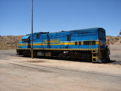Namibija,lokomotyvas,geležinkelis