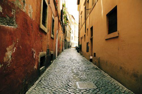 alėja, kelias, spalva, gatvė, Miestas, cobbled, kelias & nbsp, paviršius, sienos, miestas, senas, siauras gatvė