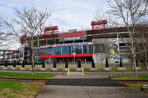 Našvilio Tennessee, titans, futbolo komanda, Sportas, stadionas, kraštovaizdis, struktūra, centro, Našvilis, pastatas, nissan, Tennessee, be honoraro mokesčio