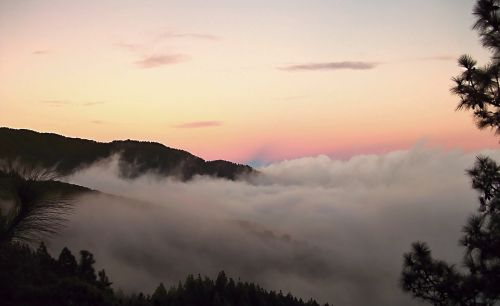 Nacionalinis parkas,teide,Tenerifė,Kanarų salos,Teide nacionalinis parkas,gamta,el teide,jūros rūkas,abendstimmung,debesys,Ispanija,passat debesys