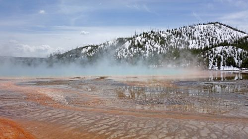 Nacionalinis parkas,geltonas akmuo,Nacionalinis parkas,Jungtinės Valstijos,didysis prizminis pavasaris,gamta,kraštovaizdis