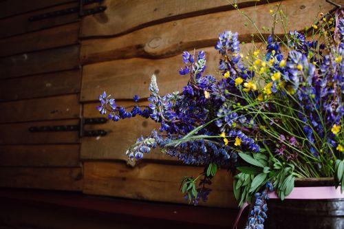 gamta,gražus,boho,puokštė,ruda,molis,spalva,laukas,gėlės,žolelės,natūralus,augalai,puodą