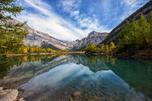 gamta,Bergsee,veidrodis
