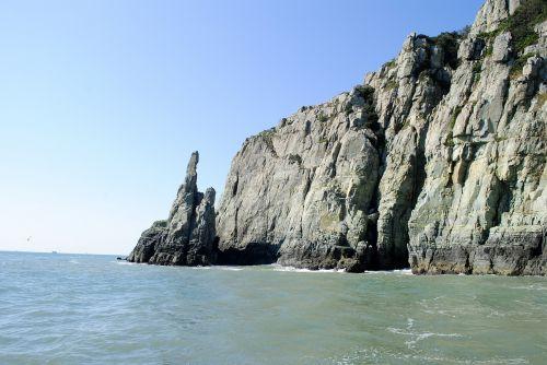 gamta,jūra,jūra kumgang,kraštovaizdis,peizažas,geoje,Pietų jūra,Rokas,uolos