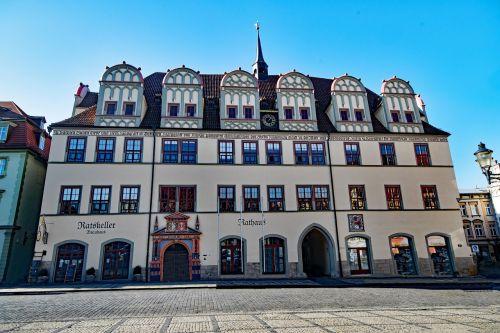 naumburg,Saksonija-Anhaltas,Vokietija,Senamiestis,lankytinos vietos,pastatas,miesto rotušė,senoji miesto rotušė,ratskeller