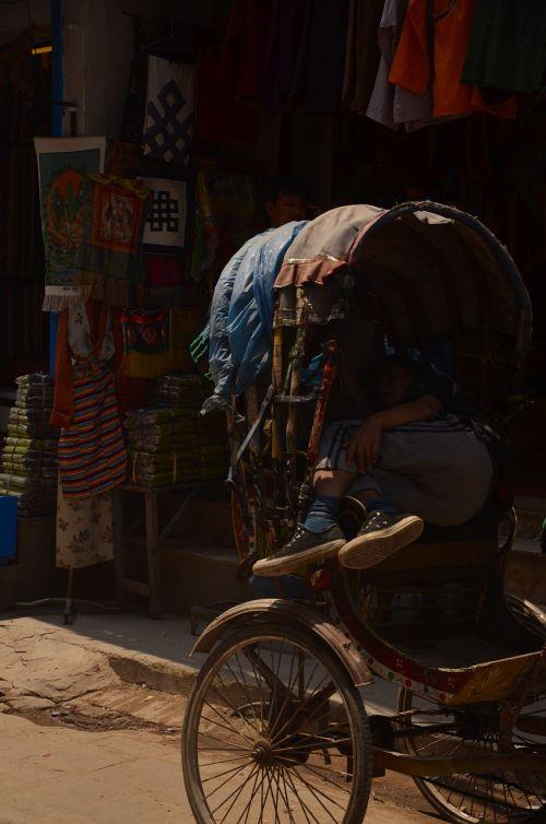 Nepalas,katmandu,gatvė