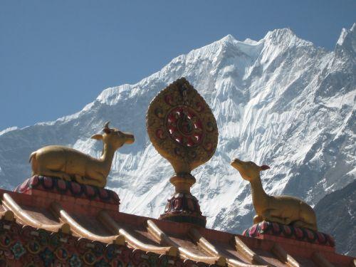 Nepalas,Himalajus,budizmas