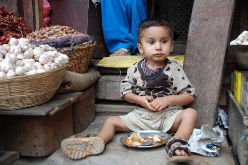 Nepalas, Turgus, Vaikas