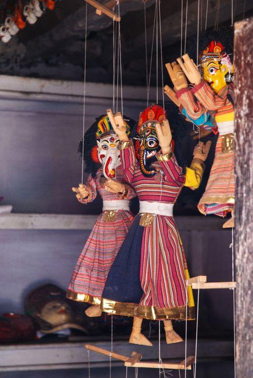 Nepalas, lėlės, Katmandu