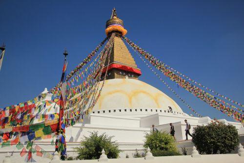 Nepalas, Boudhanatas, Stupa