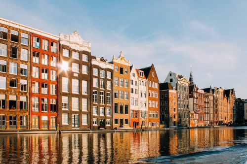 Nyderlandai,vaizdas,namai