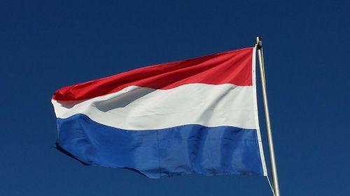 Nyderlandai,vėliava,raudona
