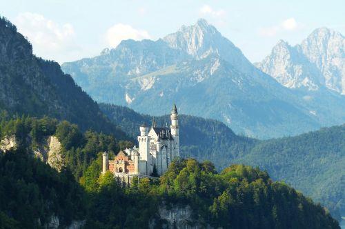 Neuschwanstein pilis,ryto šviesa,kristinas,fėjų pilis,Allgäu,pastatas,pritraukimas,pasakos karalius,karalius ludvigas,füssen,istoriškai,bavarija,patrauklus,karalius ludwigas 2,statybos menas,tannheimer kalnai