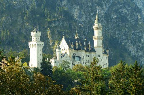 Neuschwanstein pilis,ryto šviesa,kristinas,fėjų pilis,Allgäu,pastatas,pritraukimas,pasakos karalius,karalius ludvigas,füssen,istoriškai,bavarija,patrauklus,karalius ludwigas 2,statybos menas