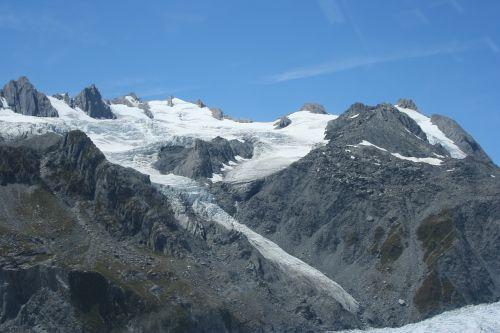 naujas,zealand,kalnai,ledynai