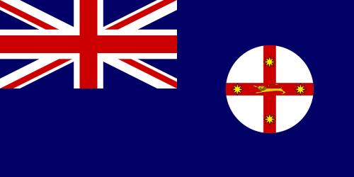 naujasis Pietų Velsas,vėliava,valstybė,pareigūnas,australia,nemokama vektorinė grafika