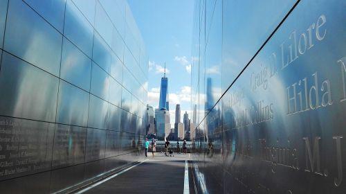 Niujorkas,Naujasis Džersis,Džersis,liberty park,paminklas,duoklė,išpuoliai,rugsėjo 11 d. 2001 m .,pasaulio prekybos centras,vardai,vaizdas