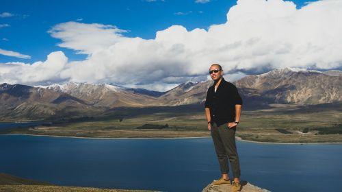 Naujoji Zelandija,ežeras,tekapo