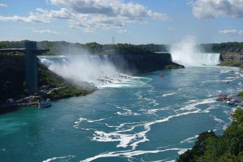Niagara, Krioklys, Niagaros Krioklys, Niagaros Krioklys, Kriokliai, Kanada, Purkšti, Vanduo, Niagara If, Kelionės Tikslas, Bylos, Ekskursijos, Usa, Lankytinos Vietos, Sienos, Vandens Galia, Boot, Drėgnas, Laukiniai, Upė, Kraštovaizdis, Nuotaika