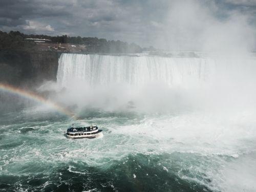 Niagaros kritimas,kritimo,kraštovaizdis,valtis,kaskados kritimas,natūralus vanduo,kritimas