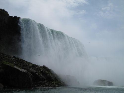 Niagaros Krioklys, Kanada, Vanduo, Gamta, Kritimo, Krioklys, Turizmas, Kelionė, Mėlynas, Niagaros Krioklys, Vaizdingas, Lauke, Pritraukimas
