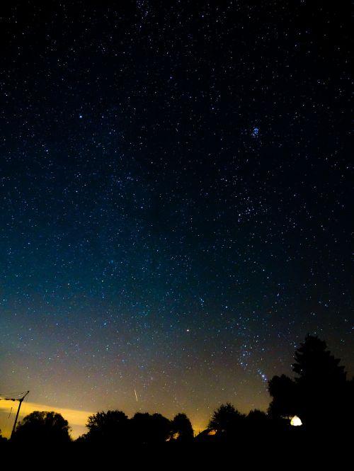 naktis,žvaigždė,dangus,Žvaigždėtas dangus,naktinis dangus,vakarinis dangus,žibintai,ilga ekspozicija,paukščių takas