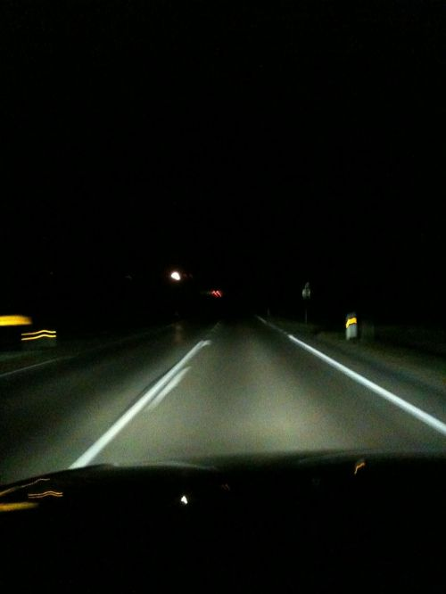 naktinis važiavimas,greitkelis,tamsa
