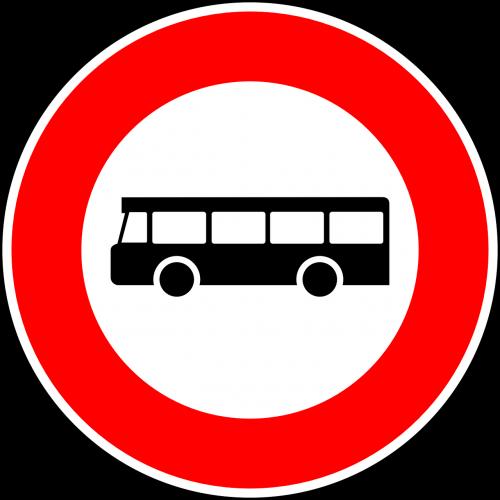 be autobusų,kelio zenklas,ženklas,reguliavimo ženklas,kelio ženklas,kelio ženklas,kelio ženklas,eismo ženklas,autobusas,raudona,draudimo ženklas,nemokama vektorinė grafika