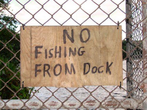 Ne & Nbsp,  Žvejyba,  Ženklas,  Rankų Darbo,  Miškai,  Gamta,  Ne Žvejyba?