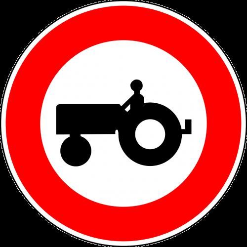 nėra traktorių,kelio zenklas,ženklas,reguliavimo ženklas,kelio ženklas,kelio ženklas,kelio ženklas,eismo ženklas,traktorius,raudona,draudimo ženklas,nemokama vektorinė grafika