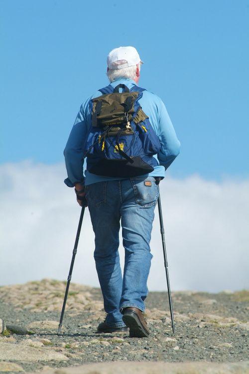 Siaurinis ejimas,kalnai,turizmas,klajojantis,pėsčiųjų takai,vasara