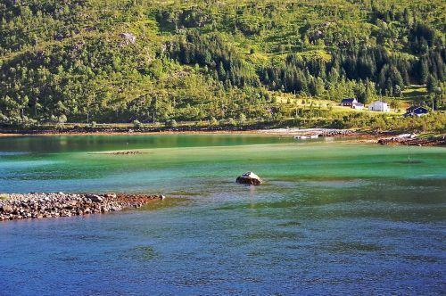 Norvegija,fjordas,vanduo,gamta,kraštovaizdis,ramus ramus,romantika,farbenspiel,nuotaika,idilija