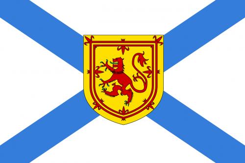 Naujoji Škotija,vėliava,pareigūnas,provincija,jūrų,Kanada,nemokama vektorinė grafika