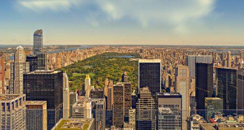 nyc,Niujorkas,centro parkas,centro parkas New York,dangoraižis,dangoraižiai,dangus,ilga ekspozicija,parkas,mus,šiuolaikiška,architektūra,bokštas,panorama,miestas