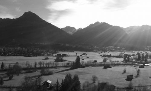 oberstdorf,Alpių,Allgäu,Allgäu Alpės,kalnai,kraštovaizdis,panorama