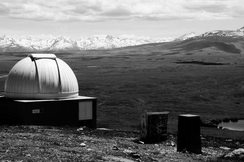 Observatorija,planetariumas,kalnai,sniegas,aukščiausiojo lygio susitikimas,Alpių,debesys,Rokas,Naujoji Zelandija,gamta,niūrus,begalinis,nuobodus
