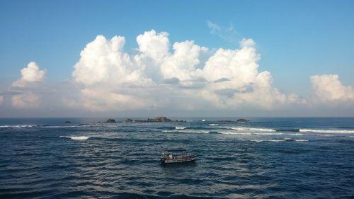 vandenynas,sri,lanka,asija,ceilonas,kraštovaizdis