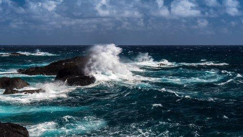 vandenynas, jūra, Atlanto vandenynas, Indijos vandenynas, Rokas, bangos, kraštovaizdis