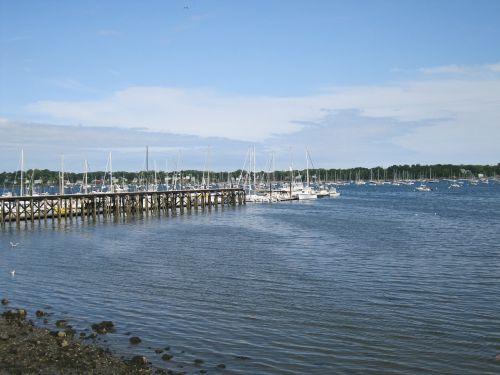 vandenynas,jūra,buriavimas,laivai,valtys,jūrinis,mėlynas,mėlynas vanduo,bangos,mėlynas dangus,lauke,gamta,Krantas,Bostonas,salem