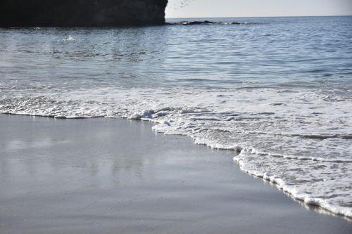 potvynis, vandenynas, vanduo, papludimys, smėlis, šlapias & nbsp, smėlis, žemas & nbsp, kampo & nbsp, peržiūra, plokščias & nbsp, smėlis, erdvė, jūros vaizdas
