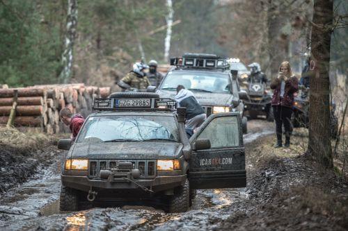 off road, ralis, Jeep, 4 x 4, visureigė transporto priemonė, išjungtas keltuvas, purvas, kelionė, Lenkija, be honoraro mokesčio