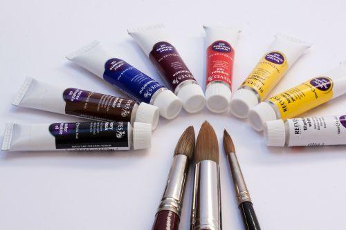 alyvos dažai,spalva,tirpus vandenyje,vamzdeliai,spalvinga,balta,geltona,raudona,mėlynas,violetinė,meno dažai,dažyti,šepetys,stiprinti įvairius,karpyti plaukų šepečius,aukštos kokybės,pusiau ratas