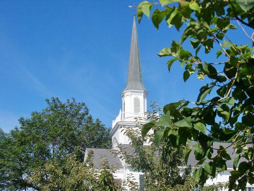bažnyčia, bažnyčios, bokštas, bokštai, medis, religija, dvasinis, tikėjimas, dievas, malda, garbinimas, senoji religija