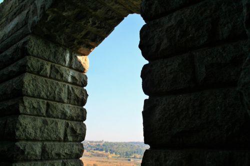 siena, granitas, atidarymas, vaizdas, atidarytas iš balkono