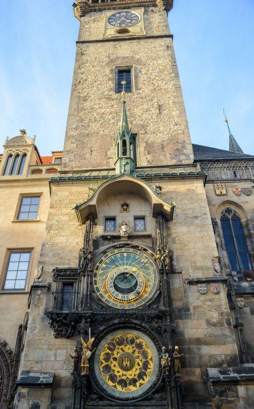 astronominis & nbsp, laikrodis, laikrodis, istorija, prague, architektūra, kruopštumas, menas, astronominis laikrodis