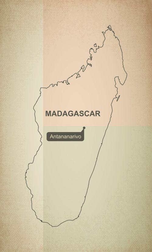 kontūrai,žemėlapis,Madagaskaras,geografija,Šalis,žemėlapiai,afrika,tikslus,vėliava