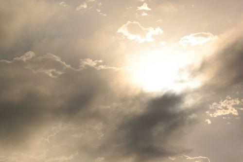 Per Naktį, Debesys, Migla, Dienos Šviesa, Atmosfera, Oras, Oras