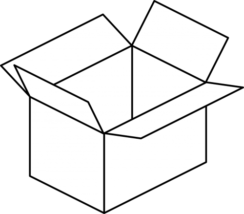 paketas,dėžė,Kartoninė dėžutė,kartonas,konteineris,atviras,paketas,siuntas,paketas,nemokama vektorinė grafika